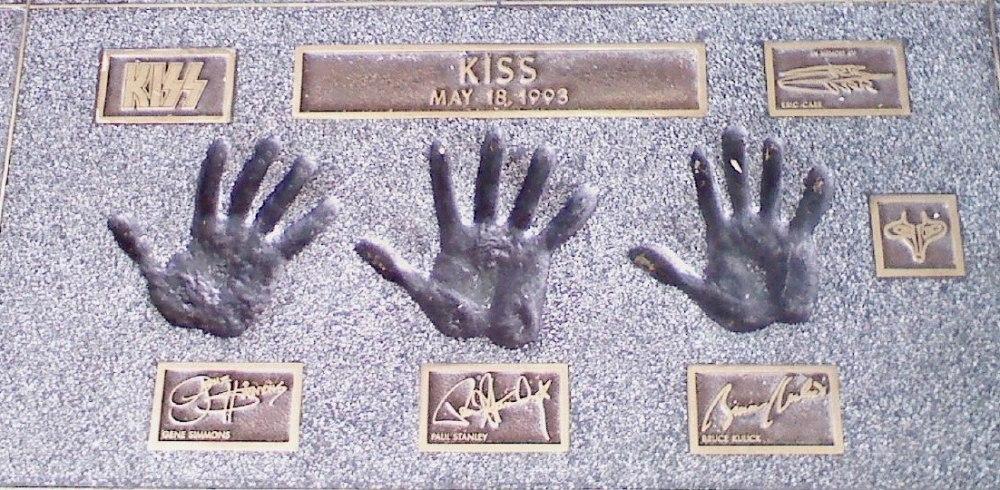 Rock Walk KISS 1993