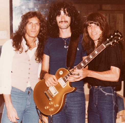 Bruce Kulick with Michael Bolton & Sandy Gennaro 1979