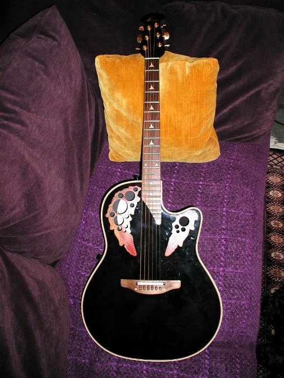 KISS GUITAR of the MONTH Ovation Elite