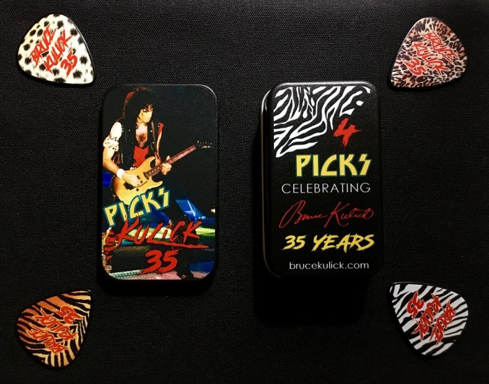 BRUCE KULICK 35th Anniversary Pick Tin