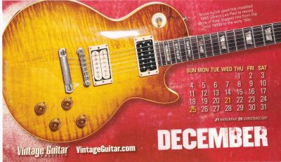 KISS Guitar of the Month September 1953 Les Paul