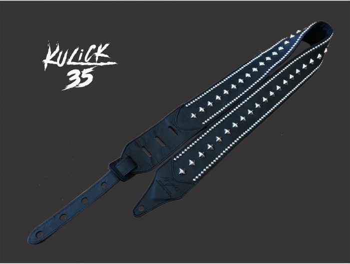 Carlino Custom Bruce Kulick 35th Anniversary Animalize Studded Guitar Strap