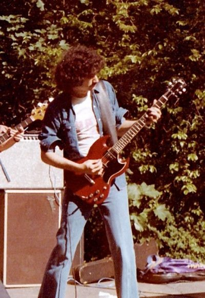 Bruce Kulick And His SG 1974