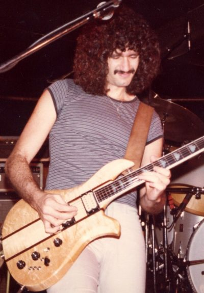 Bruce Kulick with Good Rats 1982