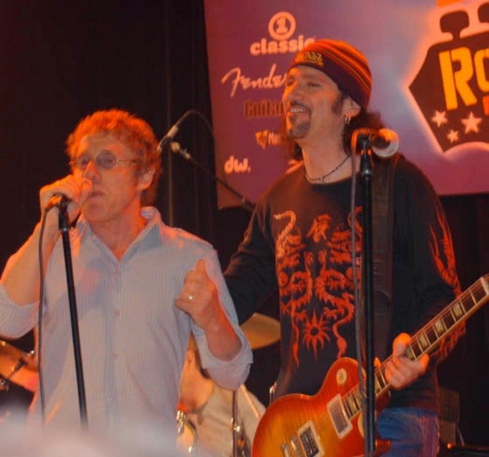 Rodger Daltrey and Bruce Kulick