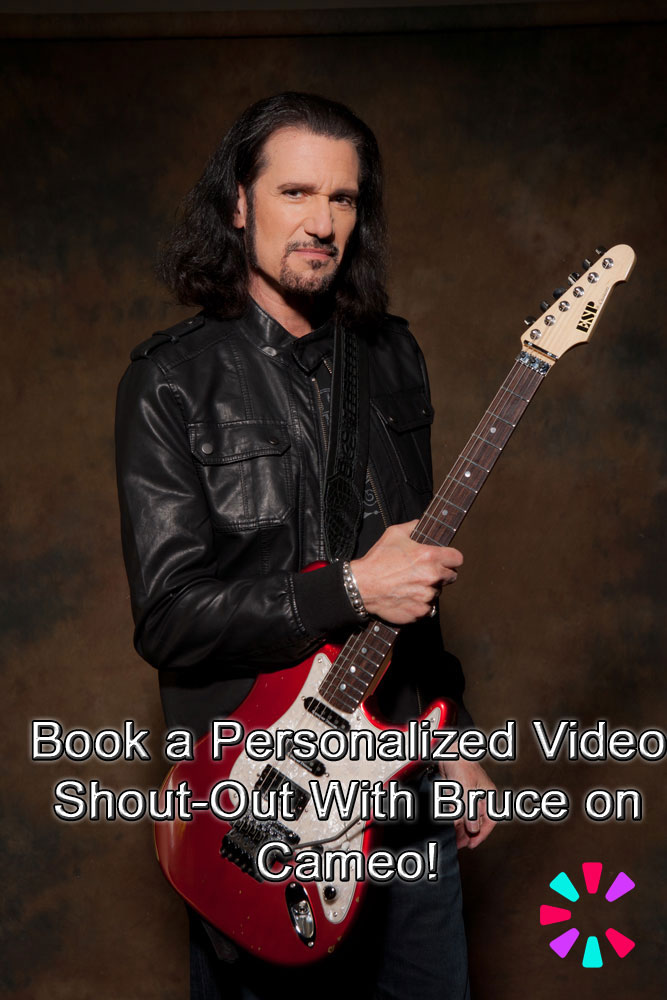 Book a Personalized Video Shout-Out With Bruce on Cameo!