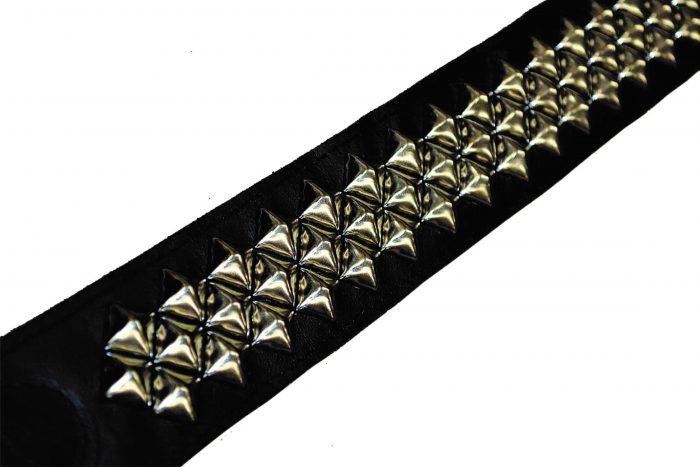 Carlino Custom Bruce Kulick Pyramid Animalize Asylum Guitar Strap